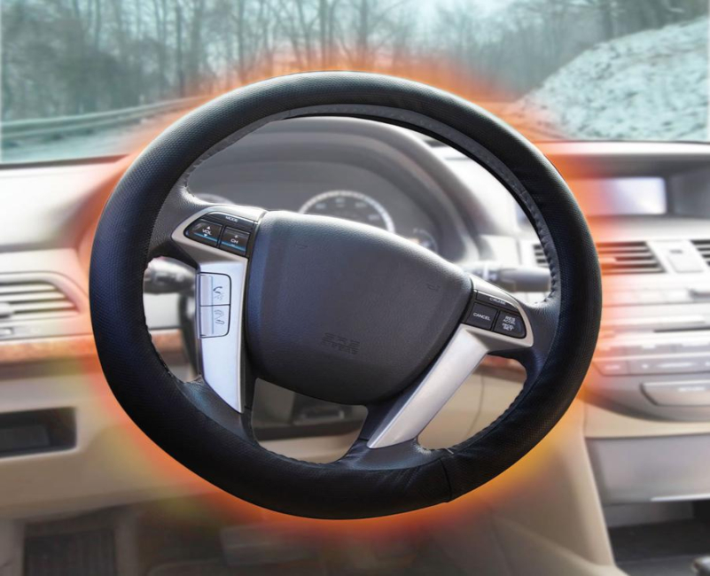 steering wheel cover for winter