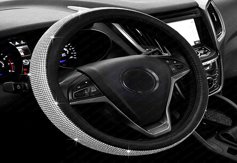3 best diamond steering wheel cover